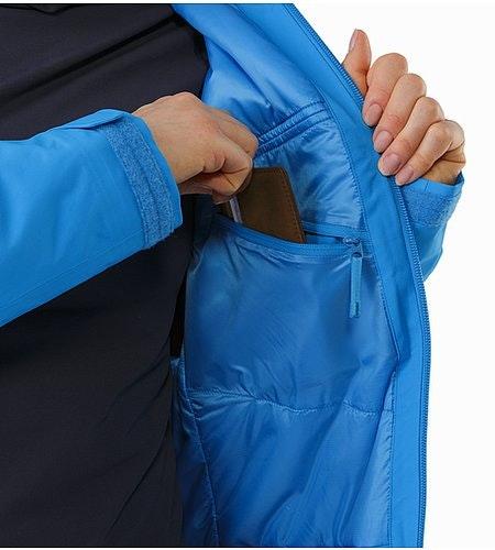 Tiya Jacket Women's Baja Internal Pocket