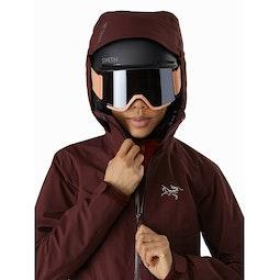 Tiya Jacket Women's Flux Helmet Compatible Hood