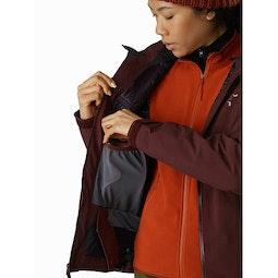 Tiya Jacket Women's Flux Internal Dump Pocket