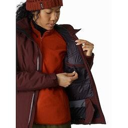 Tiya Jacket Women's Flux Internal Security Pocket