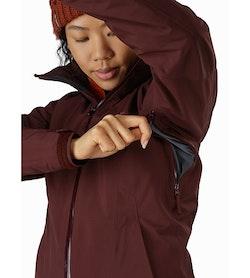 Tiya Jacket Women's Flux Pit Zip