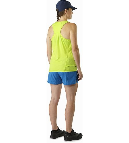 Tolu Sleeveless Women's Titanite Back View