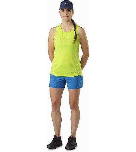 T-shirt sans manches Tolu Femme Titanite Vue de face
