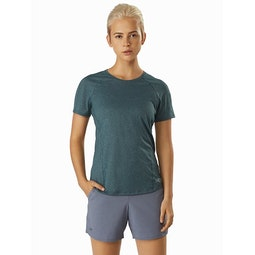 Tolu Top SS Women's Astral Front View