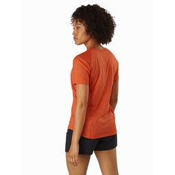 Tolu Top SS Women's Hyperspace Back View