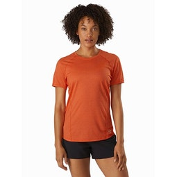 Tolu Top SS Women's Hyperspace Front View