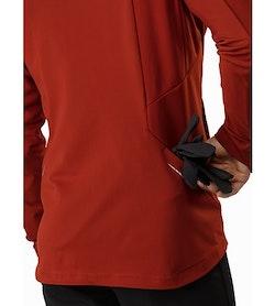 Trino Jacket Infrared Back Pocket