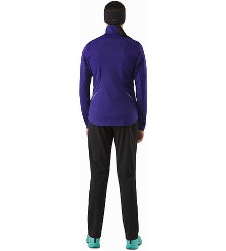 Trino Jacket Women's Azalea Back View