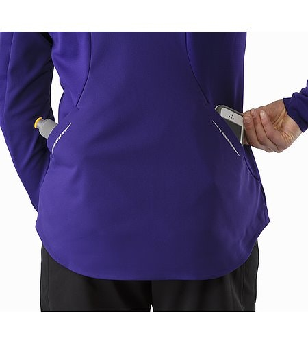 Trino Jacket Women's Azalea External Back Pockets