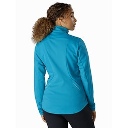 Trino Jacket Women's Dark Firoza Back View