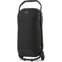 V110 Rolling Duffle Black Extended Handle
