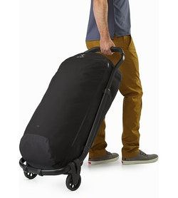 V110 Rolling Duffle Black Full View