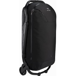 V110 Rolling Duffle Black Handle Stowed