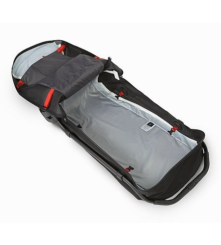 V110 Rolling Duffle Black Inside View