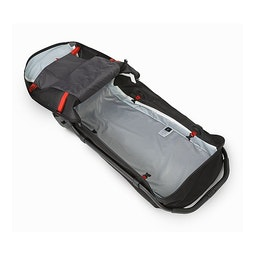 Mochila plegable V110 Black: Vista del interior