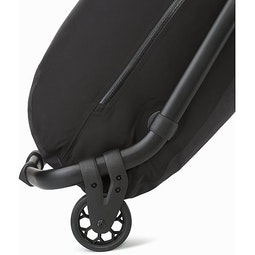 V110 Rolling Duffle Black Large Wheels