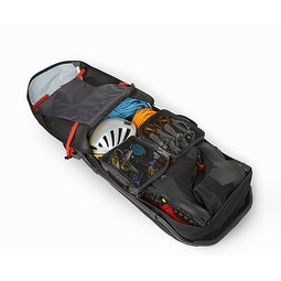 V110 Rolling Duffle Black Packed