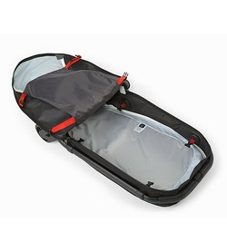 V80 Rolling Duffle Black Inside View