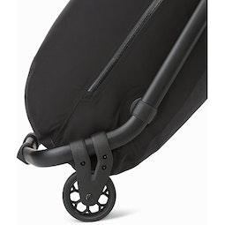 V80 Rolling Duffle Black Large Wheels