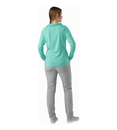 Varana Shirt LS Women's Halcyon Back View