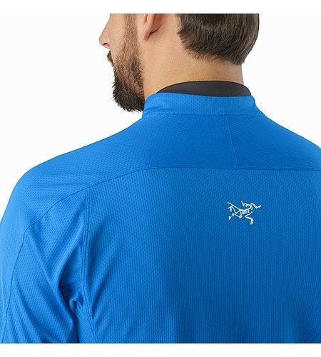 Velox Zip Neck SS Rigel Back Collar