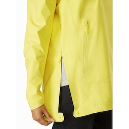Venda Anorak Women's Zenith Side Zipper Detail