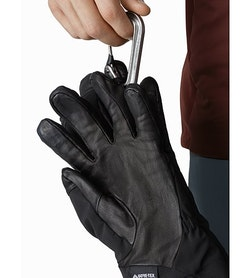 Venta AR Glove Black Carabiner Loop