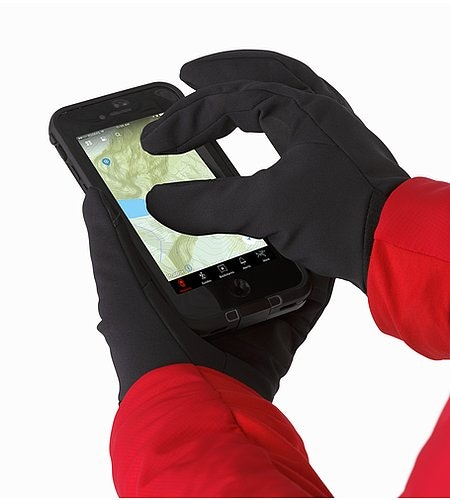 Venta Glove Black Screen Compatible Pads