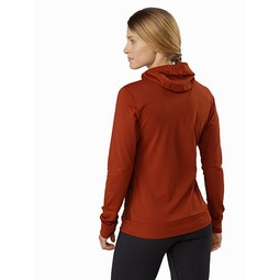 Vertices Hoody Women's Dark Sunhaven Back View