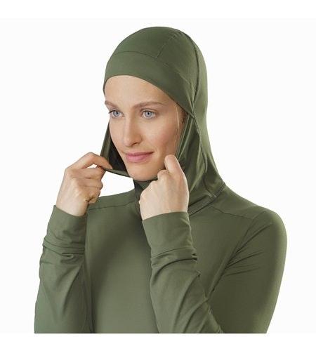 Vertices Hoody Women's Shorepine Hood Up