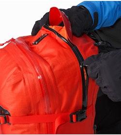 Voltair 20 Backpack Cayenne Balloon Compartment Zipper