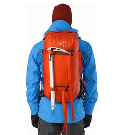 Voltair 20 Backpack Cayenne Ice Axe Carry System