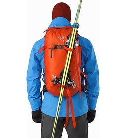 Voltair 20 Backpack Cayenne Ski Carry System
