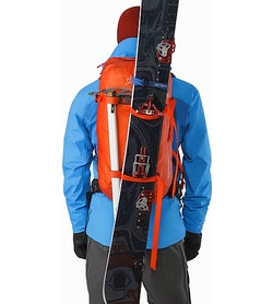 Voltair 20 Backpack Cayenne Splitboard Carry System