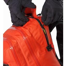 Voltair 30 Backpack Cayenne Balloon Compartment Zipper