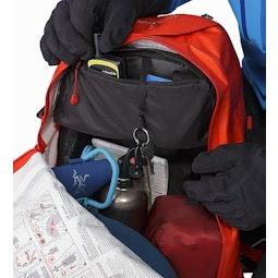 Voltair 30 Backpack Cayenne Internal Pocket