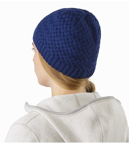 Waffle Toque Mystic Back View
