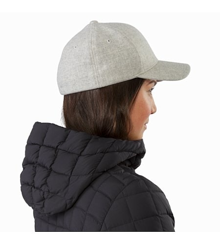 Casquette en laine Light Grey Heather Vue de dos