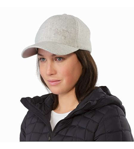 Casquette en laine Light Grey Heather Vue de face