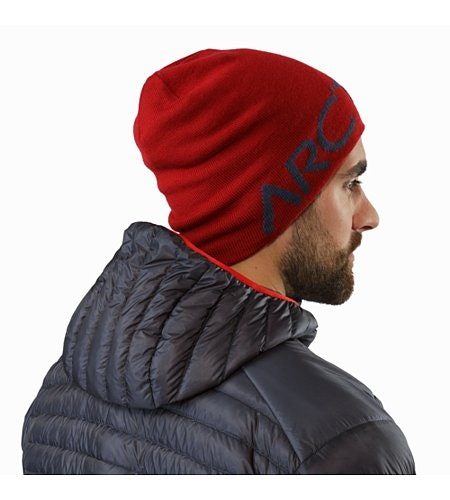 Word Head Long Toque Red Beach Nighthawk Rückansicht