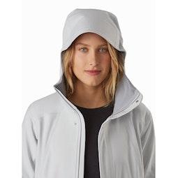 Wynd Softshell Coat Women's Athena Grey Hood