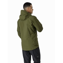Zeta AR Jacket Bushwhack Back View