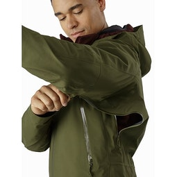 Zeta AR Jacket Bushwhack Pit Zip