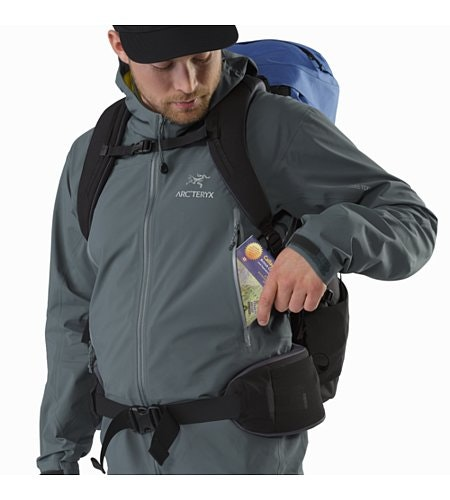 Zeta AR Jacket Neptune Hand Pocket