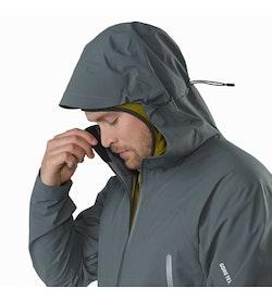 Zeta AR Jacket Neptune Hood Up