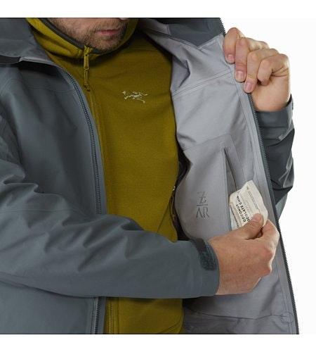 Zeta AR Jacket Neptune Internal Security Pocket