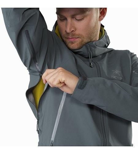 Zeta AR Jacket Neptune Pit Zip