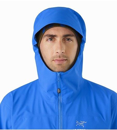 Zeta AR Jacket Rigel Hood Front View