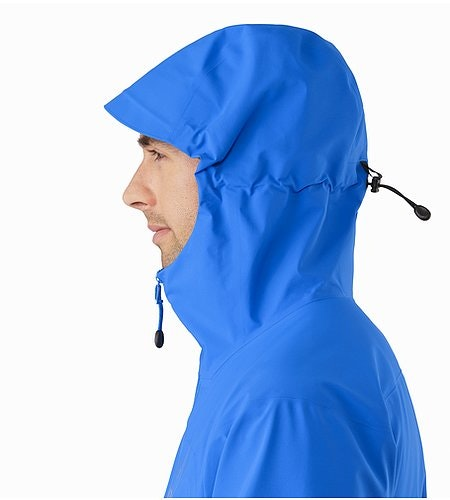 Zeta AR Jacket Rigel Hood Side View