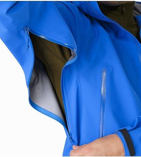 Veste Zeta AR Rigel Fermeture éclair sous les bras